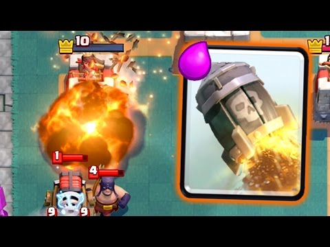 Clash Royale - SPELL DAMAGE ONLY DECK!
