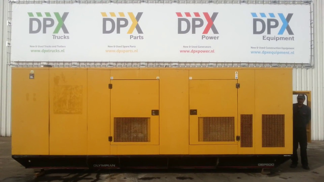 DPX Power: Olympian GEP500 (Perkins) Generator set | DPX-10859