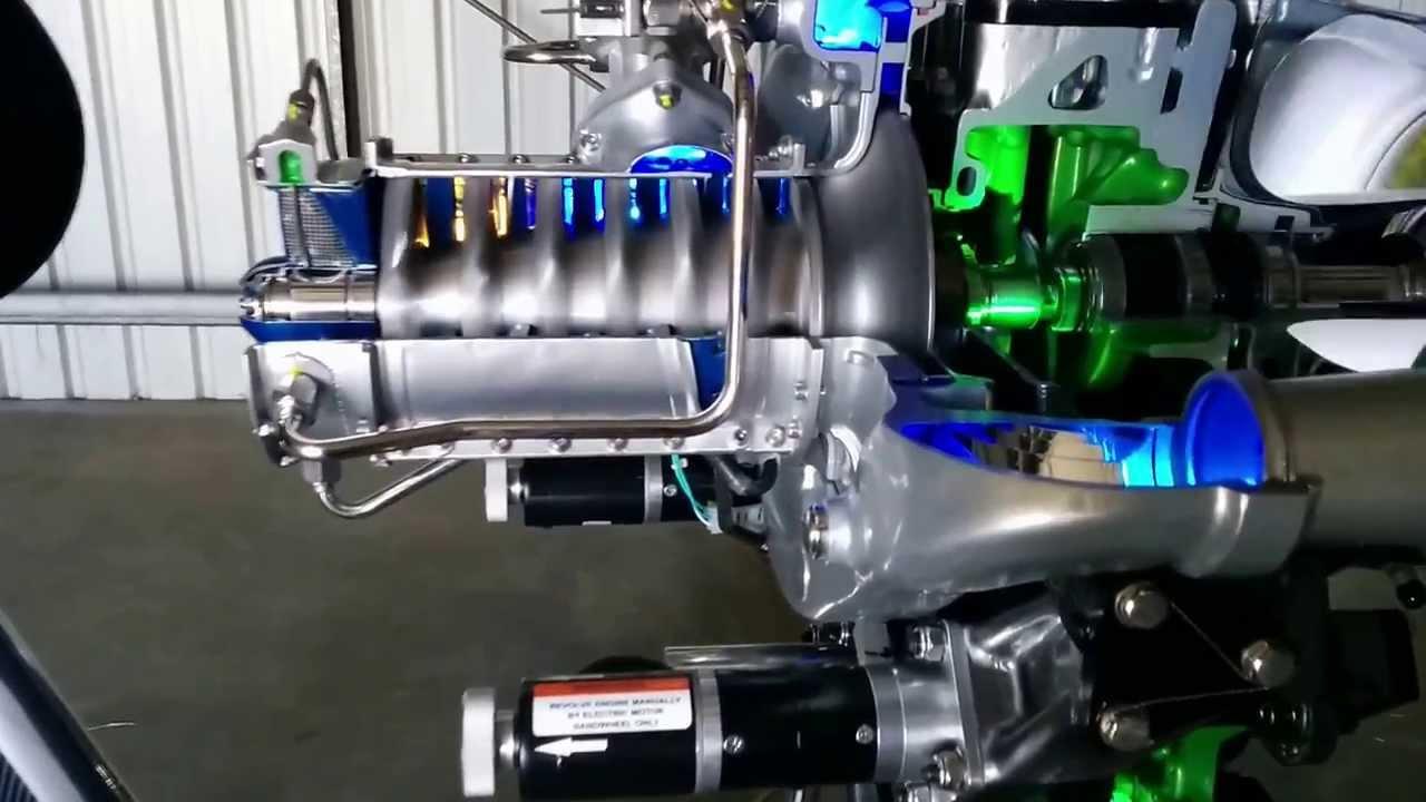 allison 250 engine cutaway start