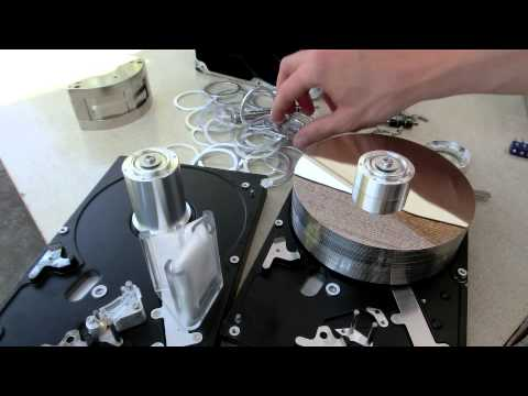 DIY Hard Drive Gyroscope part 2: adding more weight
