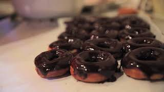 Hot and Fresh Donuts