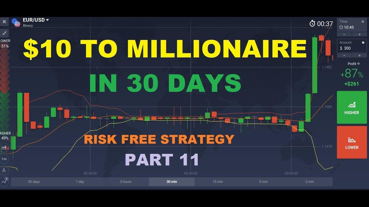 Binary options millionaire strategy