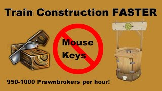 [Runescape 3] How to train Construction FASTER w/o MouseKeys or AHK (easy)!