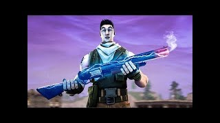 A bot with a shotgun, a sniper & a pickaxe - Fortnite Battle Royale