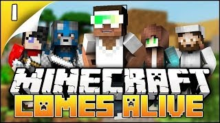 Minecraft Comes Alive - EP1 - My Future Wife?