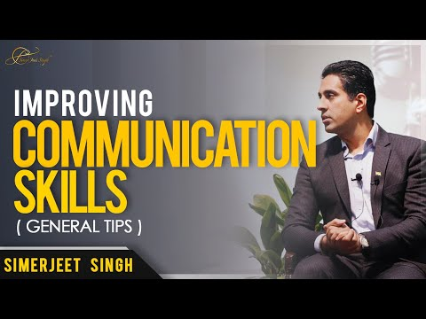 Simerjeet Singh on How to Improve your Communication Skills | Part 1 | ENGLISH Video Coach On Campus
