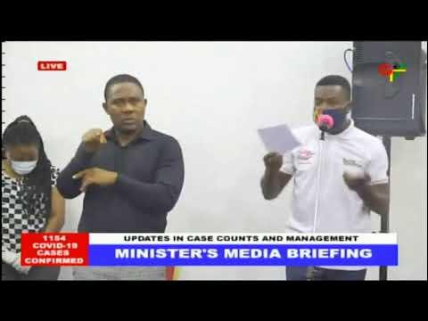 Update on Ghana's COVID-19