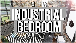 The Sims 4: Room Build || Industrial Bedroom