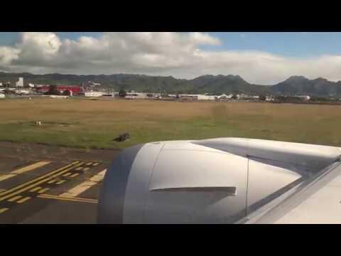 NH (ANA) BOEING 787-9 - LANDING TO (Daniel K. Inouye) HONOLULU INTERNATIONAL AIRPORT