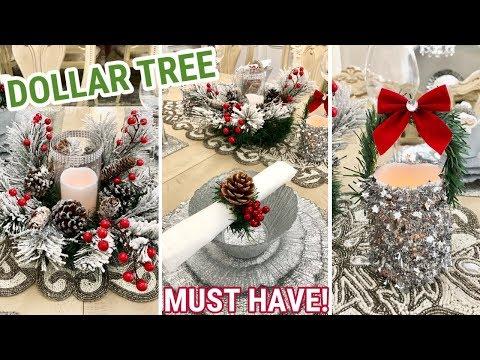Dollar Tree DIY Christmas Decor  Holiday Must Have! 2018