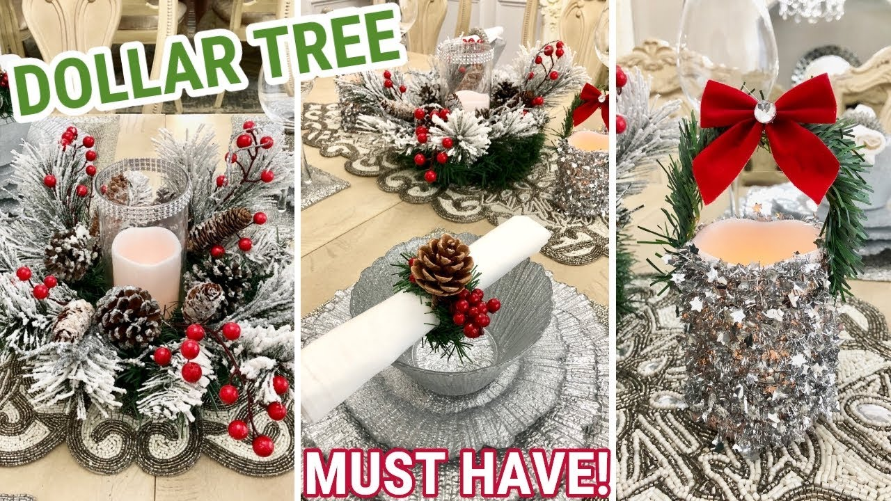 Dollar Tree DIY Christmas Decor | Holiday Must Have! 2018 ...