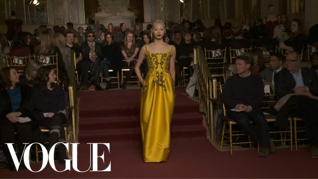 06a66a22c9d Zac Posen Ready to Wear Fall 2013 Vogue Fashion Week Runway Show ...