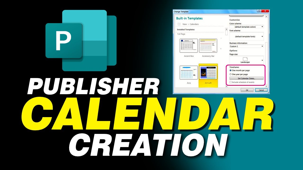 how to create a logo in publisher 2016