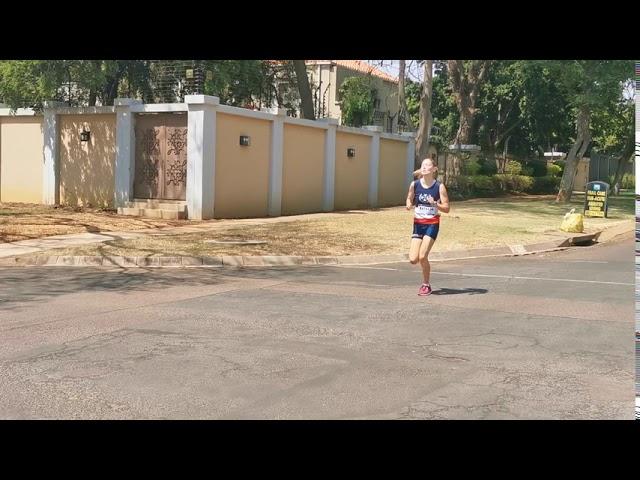 Natasha van Niekerk 800m