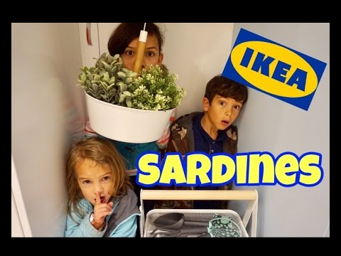 FAMILY SARDINES IN IKEA STORE | Hide & Seek