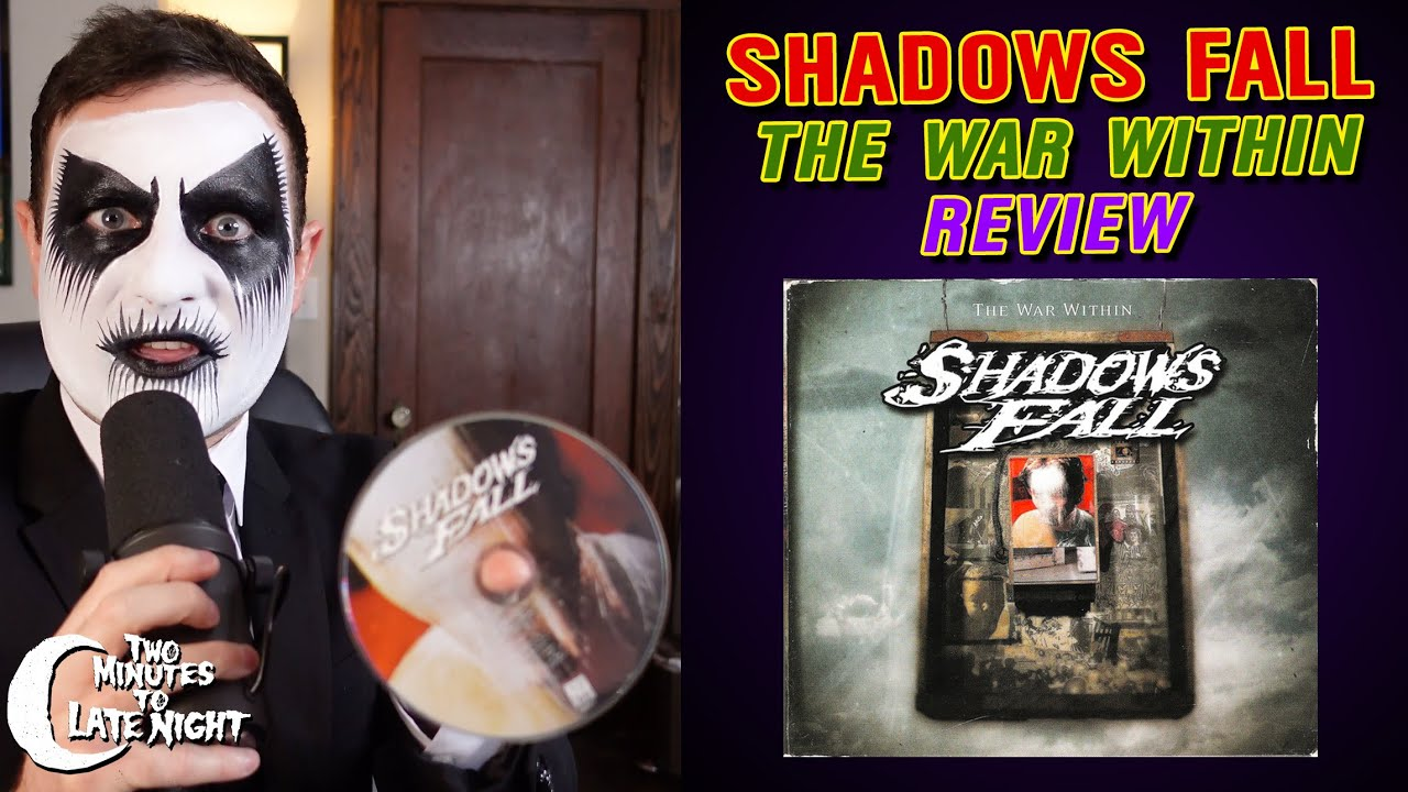 """Shadows Fall """"The War Within"""" CD REVIEW (023)"""