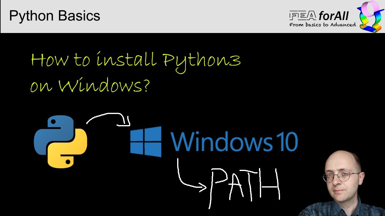 How to install python 10 on windows and set the path