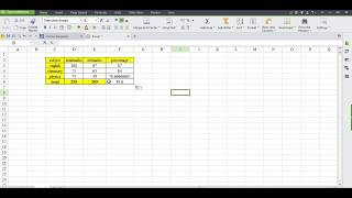 how to make result in WPS Spreadsheet OR EXCEL screenshot 3