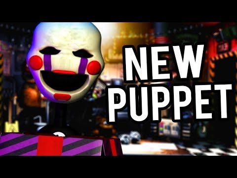 THE PUPPET RETURNS WITH NEW ATTACKS! | Five Nights at Freddys ULTIMATE Custom Night