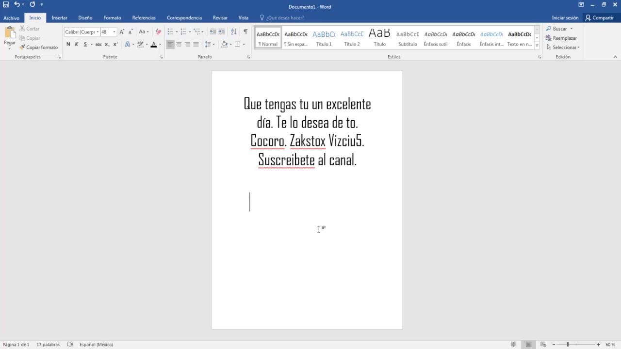 Como Alinear El Texto Al Centro A Una Hoja En Word 2016 - YouTube