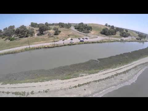 Aerial Footage of Bedwell Bayfront Park - Menlo Park, CA