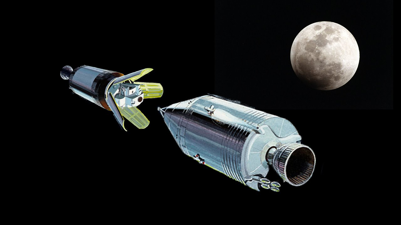 How Did The Apollo Mand And Lunar Modules Bee One Youtube. Youtube Premium. Saturn. Saturn V Rocket Capsule Diagram At Scoala.co