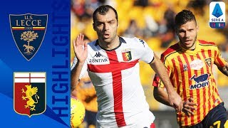 Lecce 2-2 Genoa | Hosts Rally from Two Down to Share Points With Genoa | Serie A