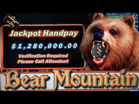 Bear Mountain High Limit Slot Bonus Big Jackpot Win!