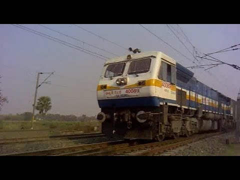 Fast & Furious!!!! High Speed Mashup of Howrah-Barddhaman Chord Section in my 200th Upload!!!