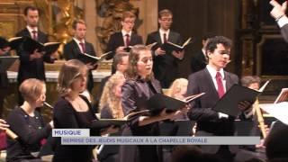 Musique : reprise des jeudis musicaux à la Chapelle Royale