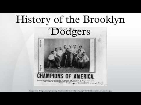 History of the Brooklyn Dodgers