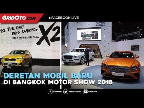 Deretan Mobil Baru di Bangkok Motor Show 2018