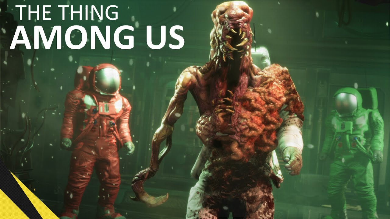 Download The Thing AMONG US | Animation Movie