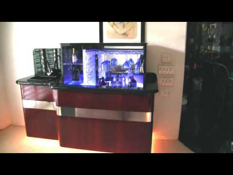 "INCA Utility Lift installed in ""HIDDEN BAR"""
