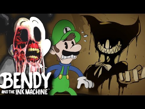 SUICIDE MOUSE DIDN'T APPROVE! BENDY AND THE INK MACHINE CHAPTER 4 (Disney Horror Game)
