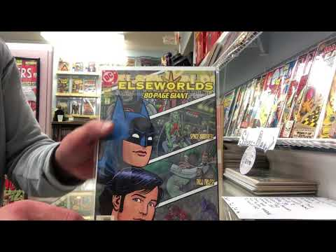 Finally a comic book haul!  (My comic collecting method - a look into the mind of Silver-Age)