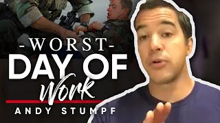 BEST AND WORST DAY IN THE MILITARY: Andy Stumpf Talks About The Experience Of Getting Shot In Combat