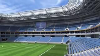 видео Калининградский стадион #ЧМ2018. Ролик предоставлен ЦНИИПромзданий.