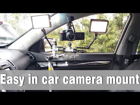 In Car Camera mount - How to make