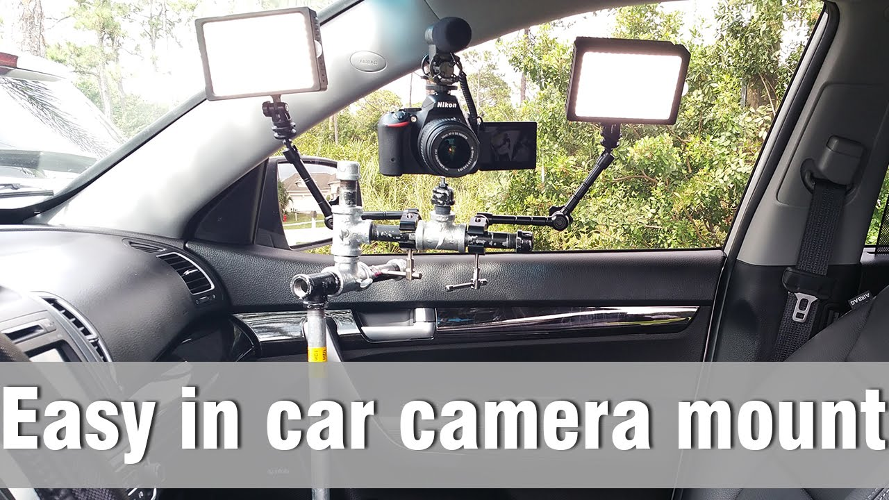 In Car Camera Mount How To Make Youtube