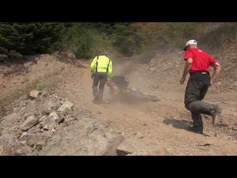 Adventure Motorcycle Advanced Off-road Training Part 1