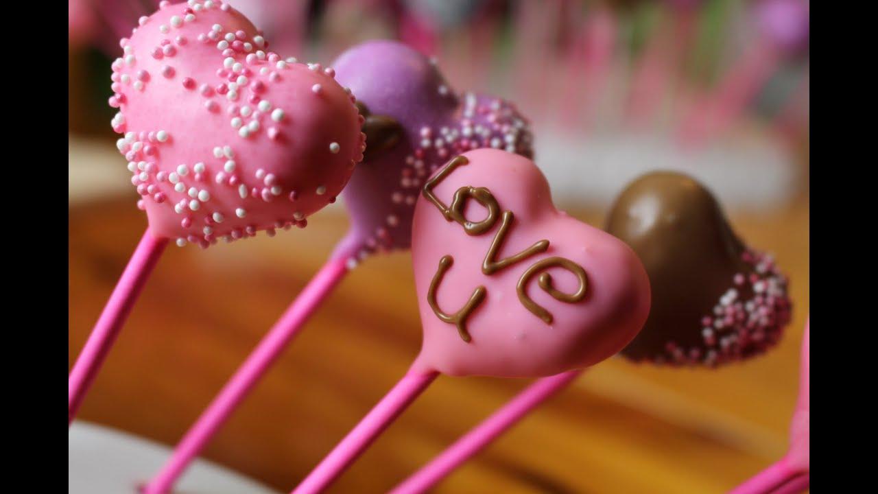 Heart Cakepops L Valentines Day L Englisch + German L Birkman L MoniiFee
