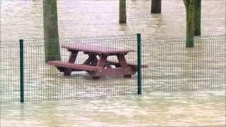 Inondations en Valle?e du Loir