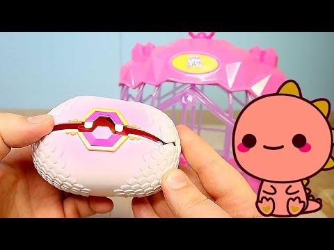 Дракончик Интерактивный Вылупляется Little Live Pets Dragon в клетке