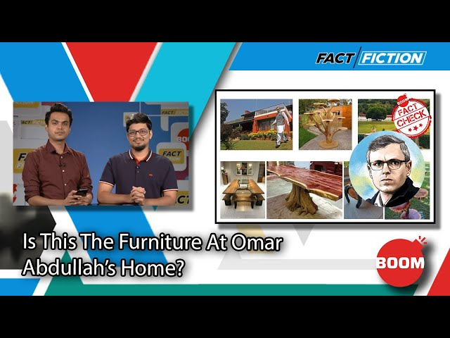 Is This The Furniture At Omar Abdullah's Home?