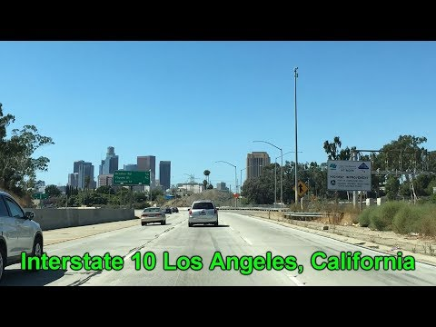 Interstate 10 in Los Angeles, California