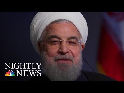 Citing U.S. Sanctions, Iranian President Says He Has No Plans To Meet Trump   NBC Nightly News
