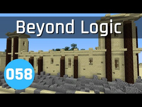 Beyond Logic #58: The Great Wall of.... | Minecraft 1.13
