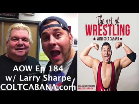 Larry Sharpe Ep 184 (RIP)   AOW Podcast w/ Colt Cabana