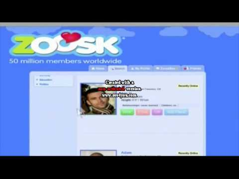 Zoosk dating commercial darts